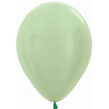 Globos Verde Satin (50 uds)