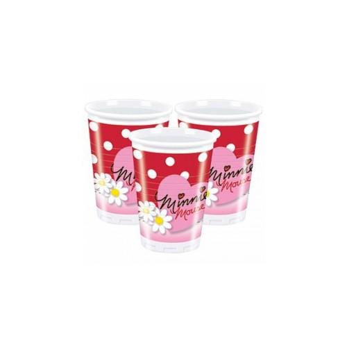 Vasos Plástico 200 ml Minnie (10 uds)