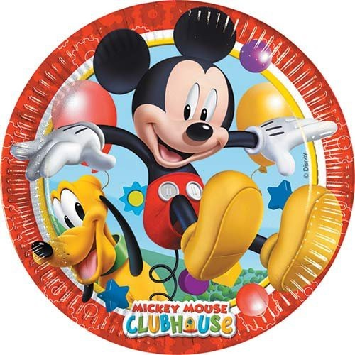 Platos 23 cm Mickey (8 uds)