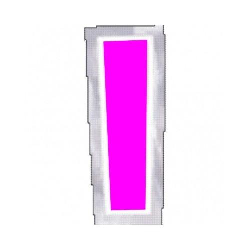 "Pegatina Para Globo Letra ""I"" Color ROSA (1 ud)"
