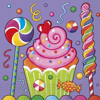 Servilletas Candy Party (16 uds)