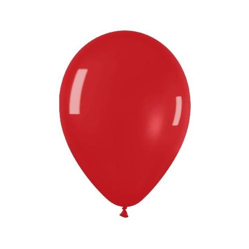 Globos Rojo Intenso (50 uds)