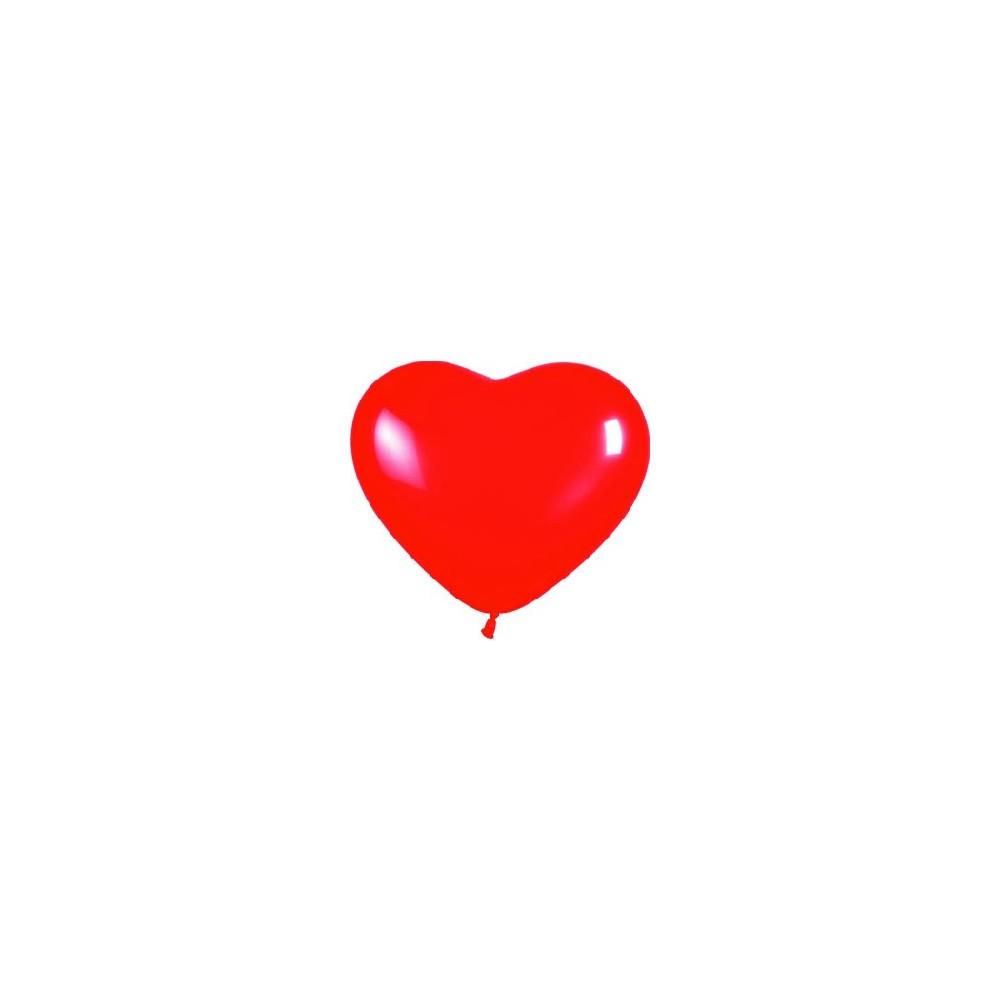 Globo Forma Corazón Rojo 1 Ud Hiperfiestas