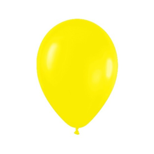Globos Amarillo Fashion Medianos (50 uds)