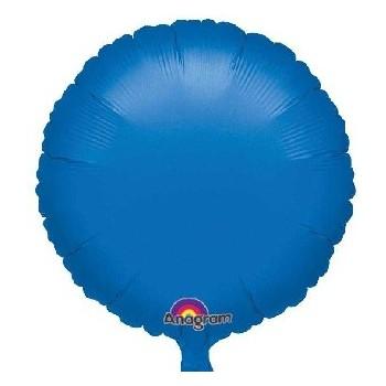 Globo Círculo Azul 45 cm (1 ud)