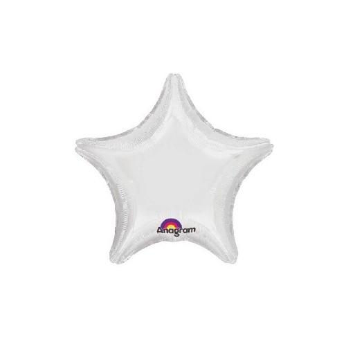 Globo Estrella Blanca 48 cm (1 ud)