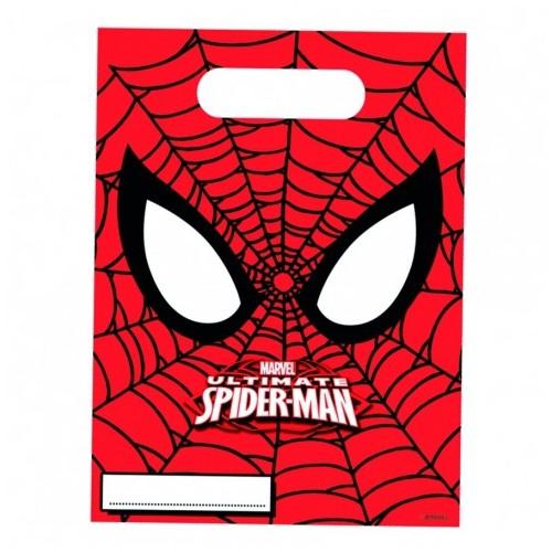 Bolsas Chuches Ultimate Spiderman (6 uds)