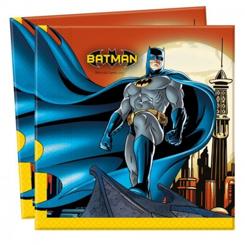 Servilletas Batman (20 uds)