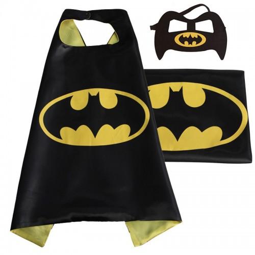 Capa Batman Con Antifaz (1 ud)