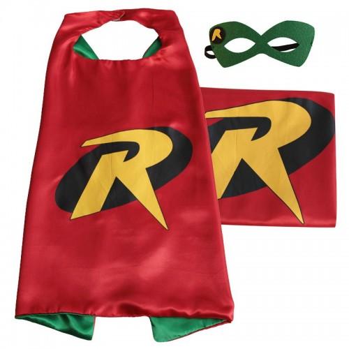 Capa Robin Con Antifaz(1 ud)