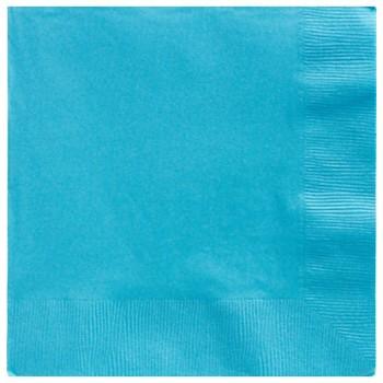 Servilletas Azul Caribe Grandes (20 uds)
