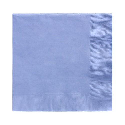 Servilletas Azul Claro Grandes (20 uds)