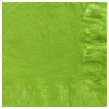 Servilletas Verde Kiwi Grandes (20 uds)