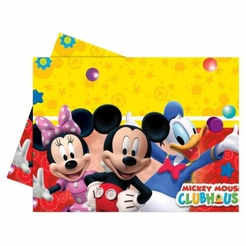 Mantel plástico Mickey (1 ud)
