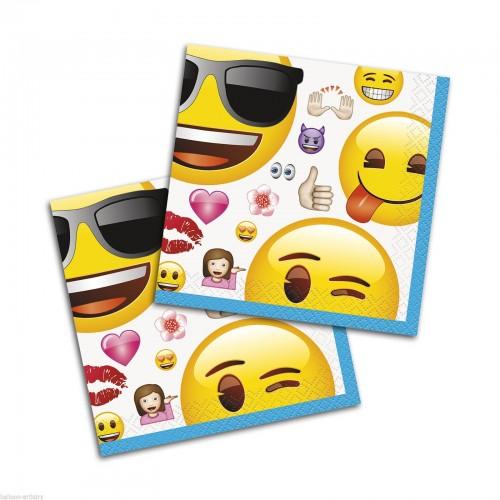Servilletas Emoji pequeñas (16 uds)