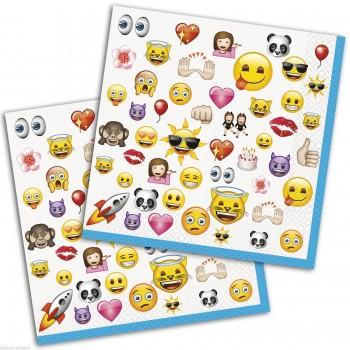 Servilletas Emoji grandes (16 uds)