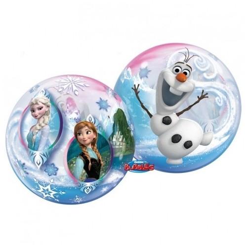 Globo Frozen Burbuja Grande (1 ud)