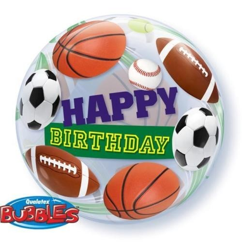 "Globo ""Happy Birthday"" Deportes Grande (1 ud)"