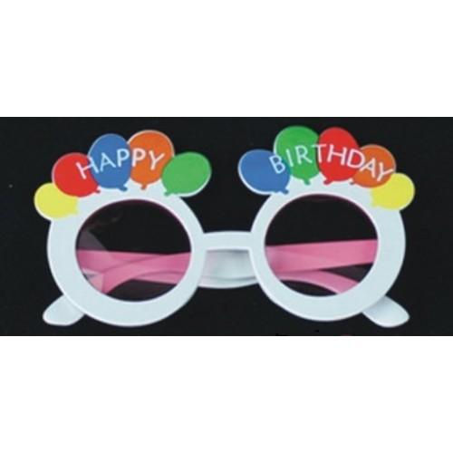 Gafas Happy Birthday Blanca (1 ud)