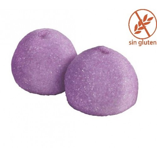 Nubes azucaradas violeta (25 uds)