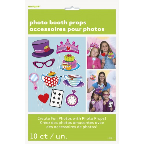Photocall Mad Hatter (10 uds)