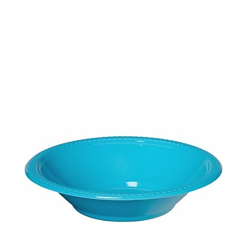 Bol de Plástico Color Azul Caribe (10 uds)