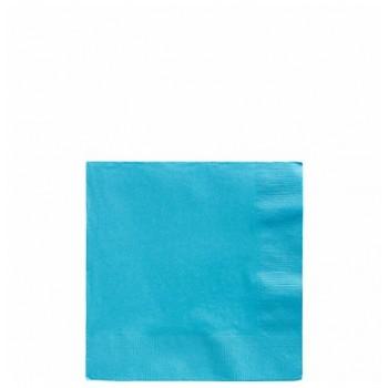 Servilletas Azul Caribe Pequeñas (20 uds)