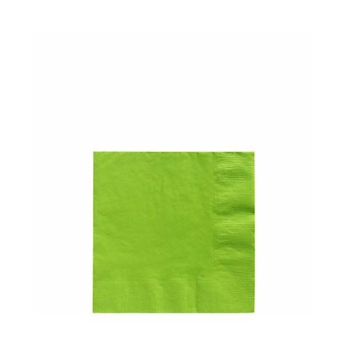 Servilletas Verde Claro Pequeñas (20 uds)