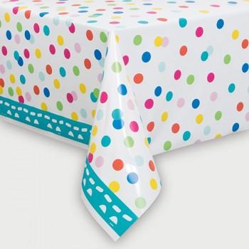 Mantel plástico Confetti Cake (1 ud)