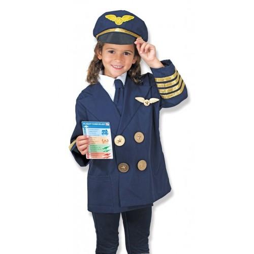 Disfraz de piloto (1 ud)