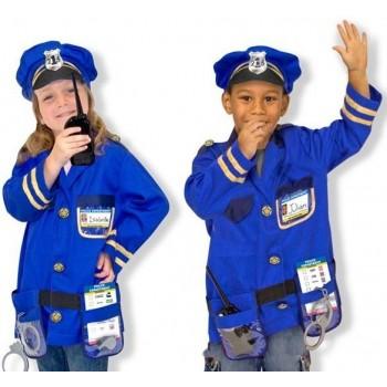Disfraz de agente de policia (1 ud)