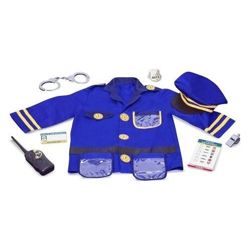 Disfraz de policia (1 ud)