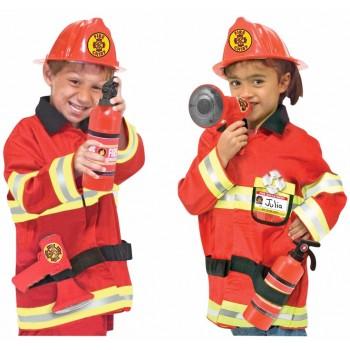 Disfraz de jefe de bomberos (1 ud)