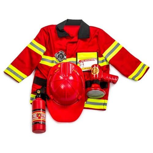 Disfraz de bombero (1 ud)