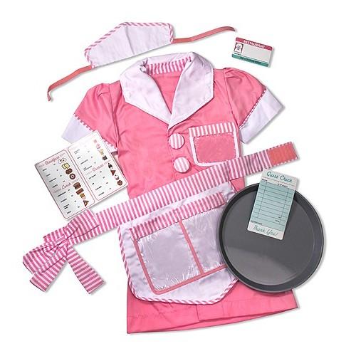 Disfraz de camarera (1 ud)