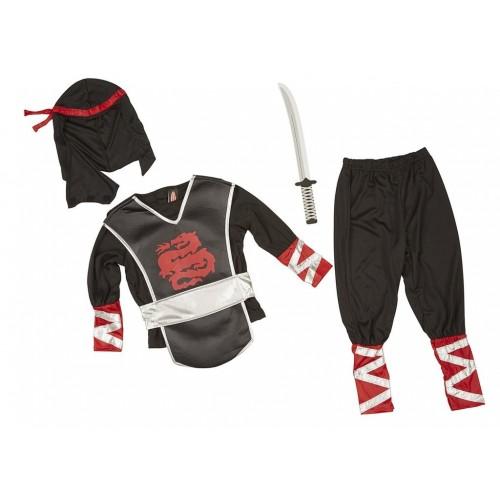 Disfraz de ninja (1 ud)