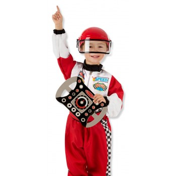Disfraz de piloto de carreras (1 ud)