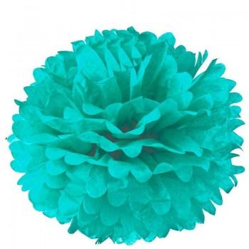 Pompón Azul Aqua (1ud)