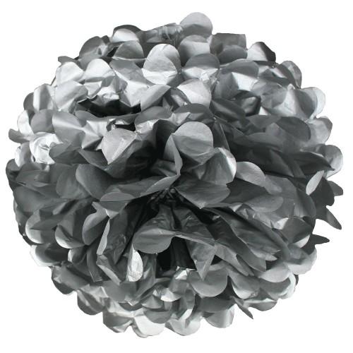 Pompón Plata grande (1ud)