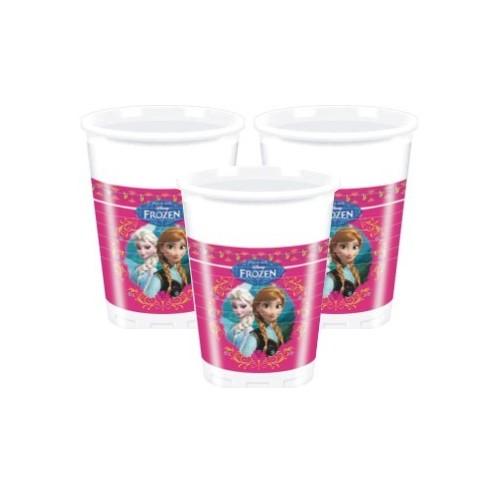 Vasos Plástico Frozen (8 uds)