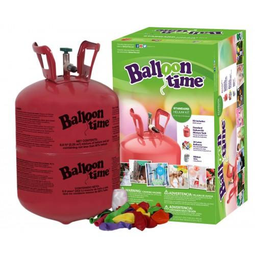 Botella Gas Helio Pequeña + globos (1ud)