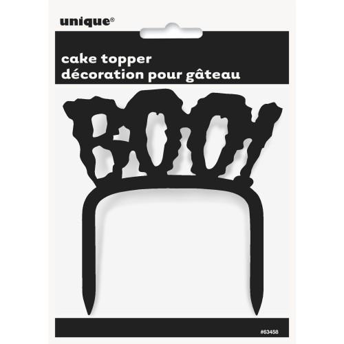 """Decoración para tarta """"Boo!"""" (1 ud)"""
