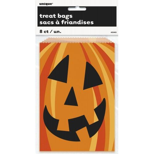 """Bolsa para galletas """"Happy Pumpkin"""" (8 ud)"""