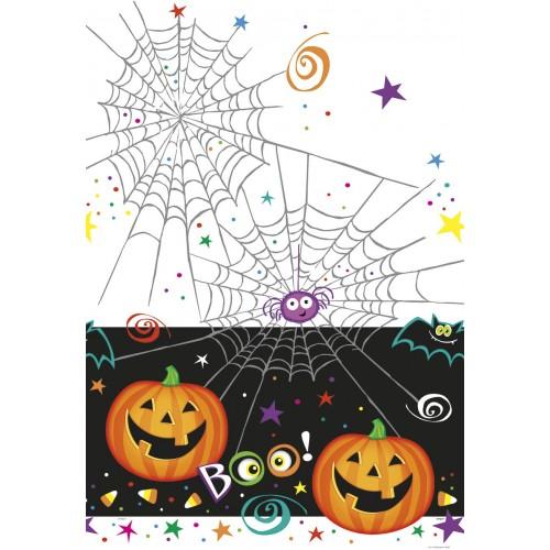 """Mantel """"Pumpkin Pals"""" 137x213 cm (1 ud)"""