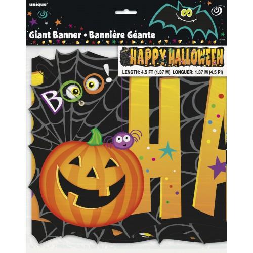 """Banner """"Pumpkin Pals"""" gigante (1 ud)"""