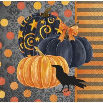 "Servilletas ""Painted Pumpkin"" pequeñas (24 uds)"