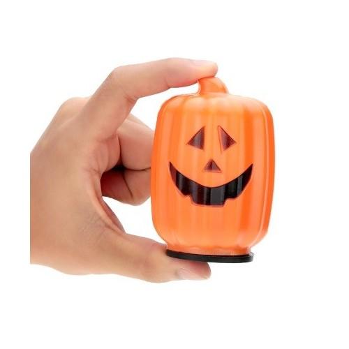 Calabaza con luz Halloween  (1 ud)