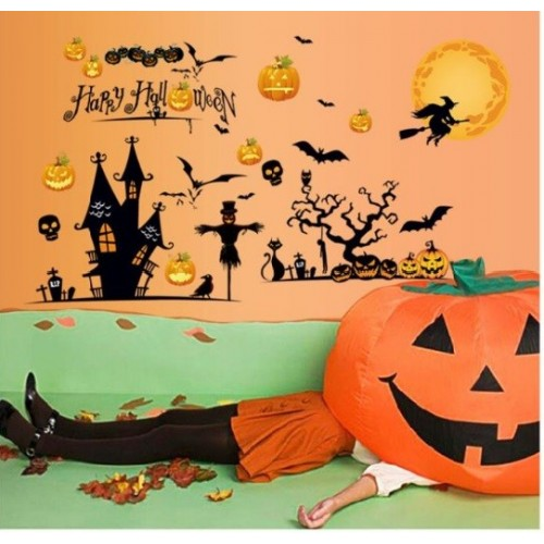 Panel adhesivo Halloween (1ud)