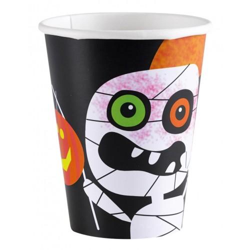 """'Vasos """"Friendly Mummy Halloween"""" 266 ml (8 uds)"""