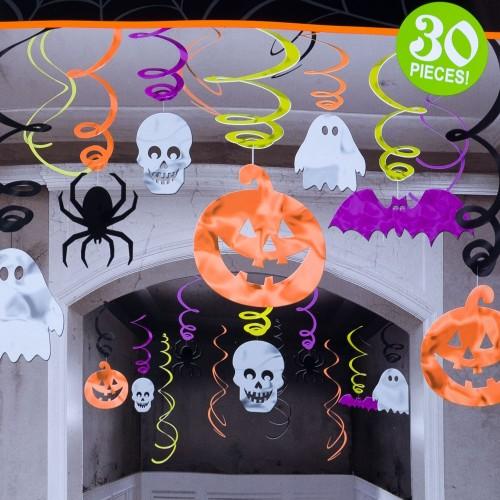 'Decoración colgante Halloween (30 uds)